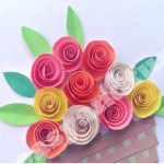 The Simple Paper Crafts For Toddlers Using Scissor Skill 15 Easy Paper Flowers Crafts For Toddlers Preschoolers And Bigger Kids