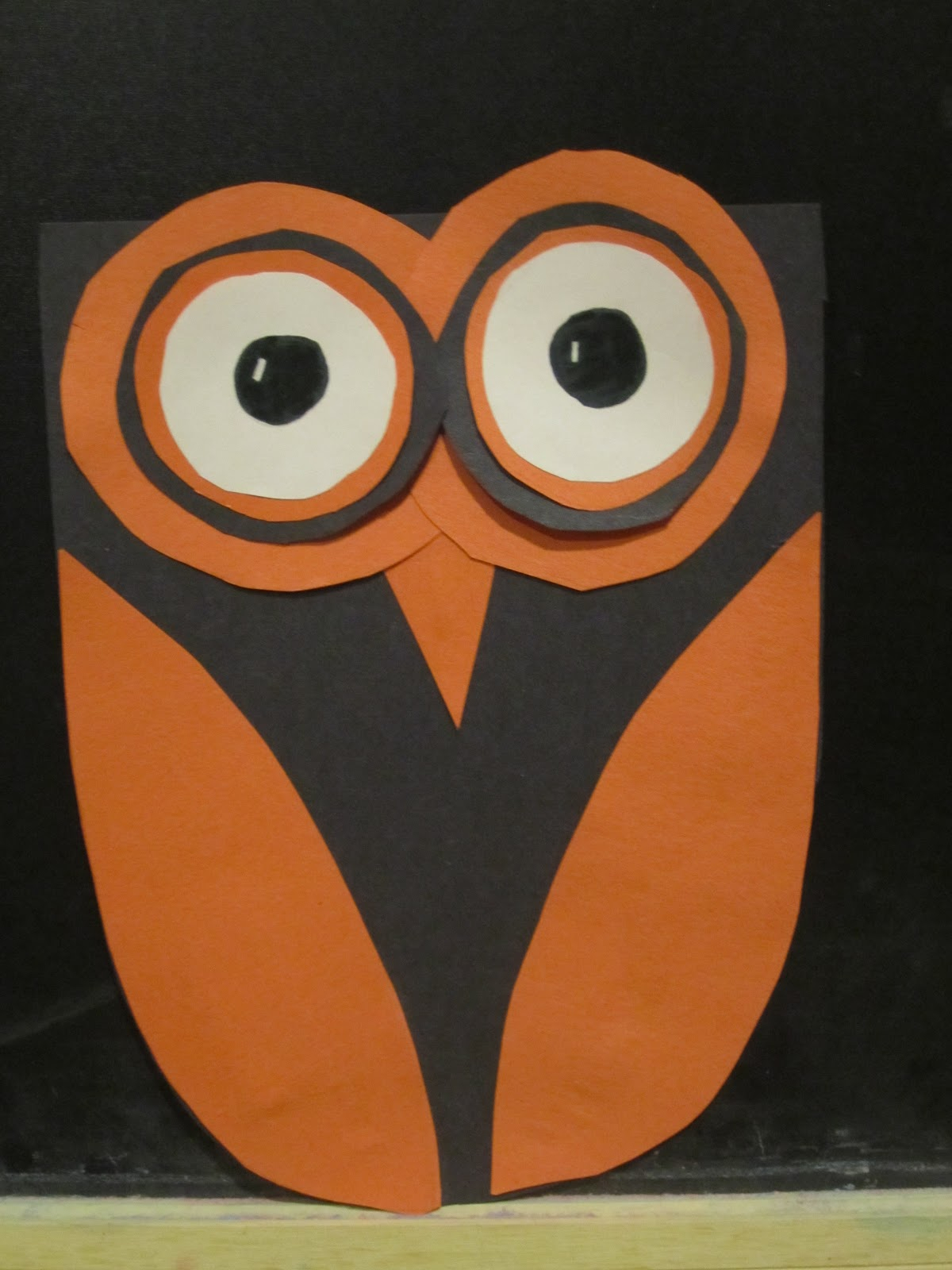 The simple paper owls crafts idea A Scary Journey Inside My Life Halloween Crafts Extra Crafts