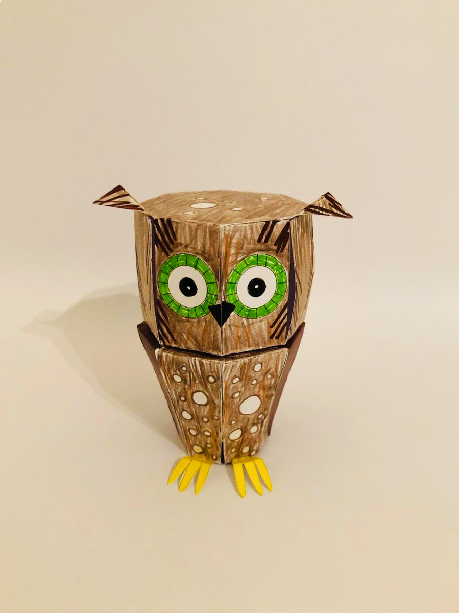 The simple paper owls crafts idea Owlcrafts Hashtag On Twitter