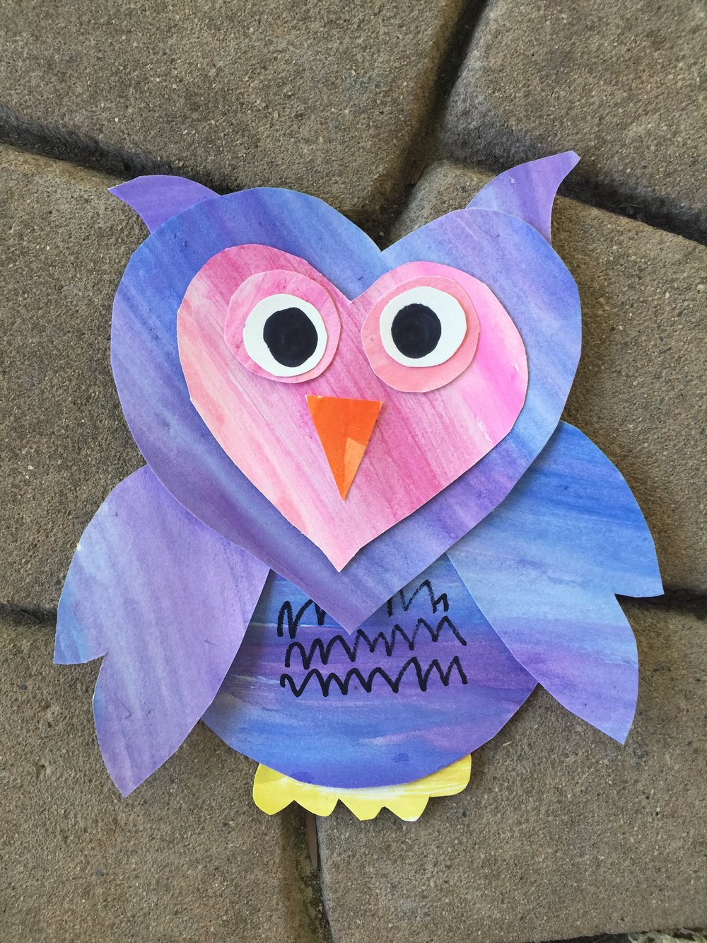The simple paper owls crafts idea Valentines Crafts Owl Squirmy Wormy Childrens Books Best Mom Tips