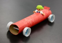Toilet Paper Roll Car Craft for Preschool Students 20 Homemade Transport Themed Toilet Paper Roll Crafts Hative