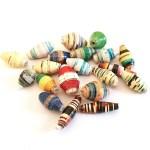 Tutorial On Creating Paper Beads Craft Ugandan Paper Bead Oval Etelage