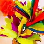Ways On Making Tissue Paper Rainbow Craft Easy Tissue Paper Flowers Craft For Kids With Video Tutorial