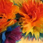 Ways On Making Tissue Paper Rainbow Craft Edenfolwell Tissue Paper Flowers Part Two