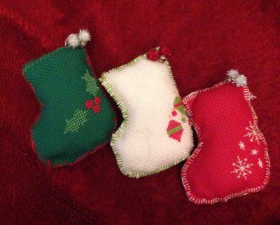 Handmade Stocking bauble
