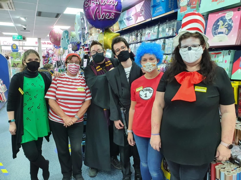 October round up - At work colleagues in costume