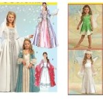 HALLOWEEN COSTUME PATTERNS for GIRLS ~ Fairy or Princess Costumes