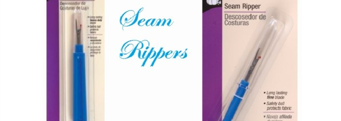 Seam Rippers