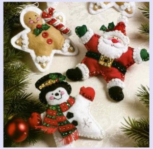 Felt Ornament Kits