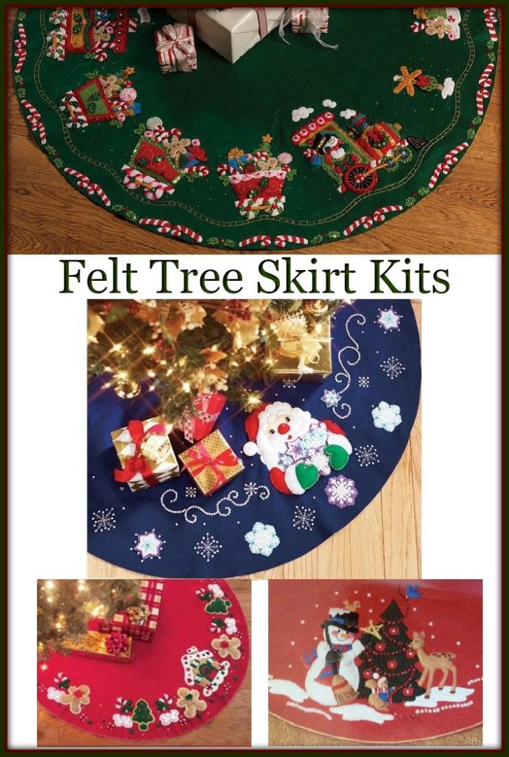 Felt Tree Skirt Kits