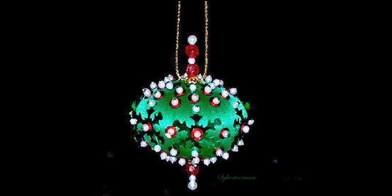 How to Make Your Own Beaded Ornaments