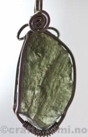 SKU# 35 detail moldavite