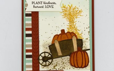 Thanksgiving Autumn Card Stampin' Up Style
