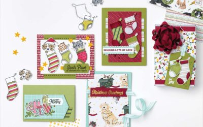 Stampin' Up Sweet Stockings Suite Collection celebrating #GlobalCatDay