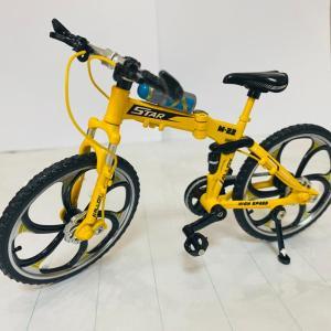 Yellow mountain foldable cycle