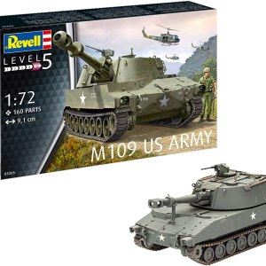 Revell 03265 M109 US Army, Multi Colour, 1:72 Scale