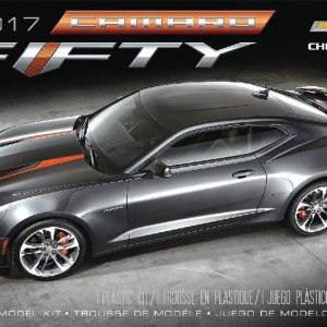 AMT 2017 Chevy Camaro FIFTY 1:25
