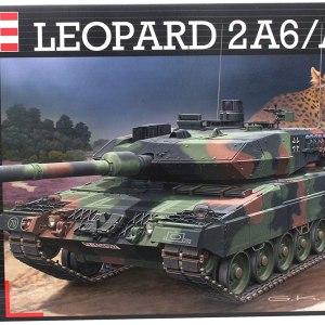 Revell Germany Leopard 2A6/A6M Model Kit