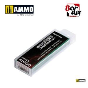 Die-Cutting Adhesive Sandpaper (TPU Material) 20pcs 1000