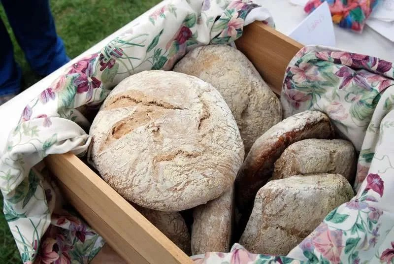 Bonnieview Farm wood-fired oven sourdough bread