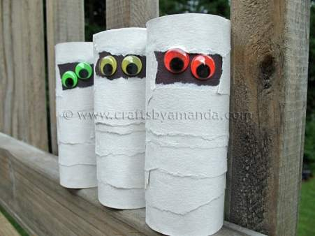 Cardboard-Tube-Mummies