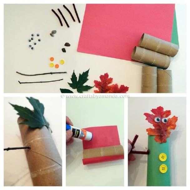 newspaper-jellyfish-craft 101+ Amazing Recycled Craft Ideas