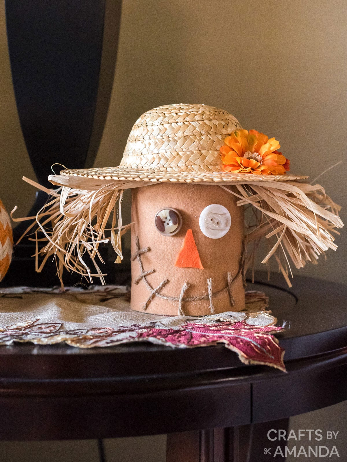 Coffee Can Scarecrow