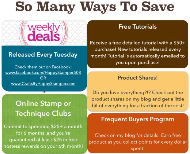 Ways to Save