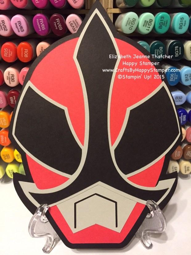 Red Power Ranger Mask
