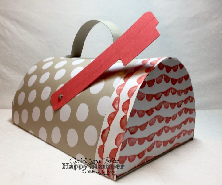Stampin Up, Paper Pumpkin, Cute Conversations, January 2016, Mailbox