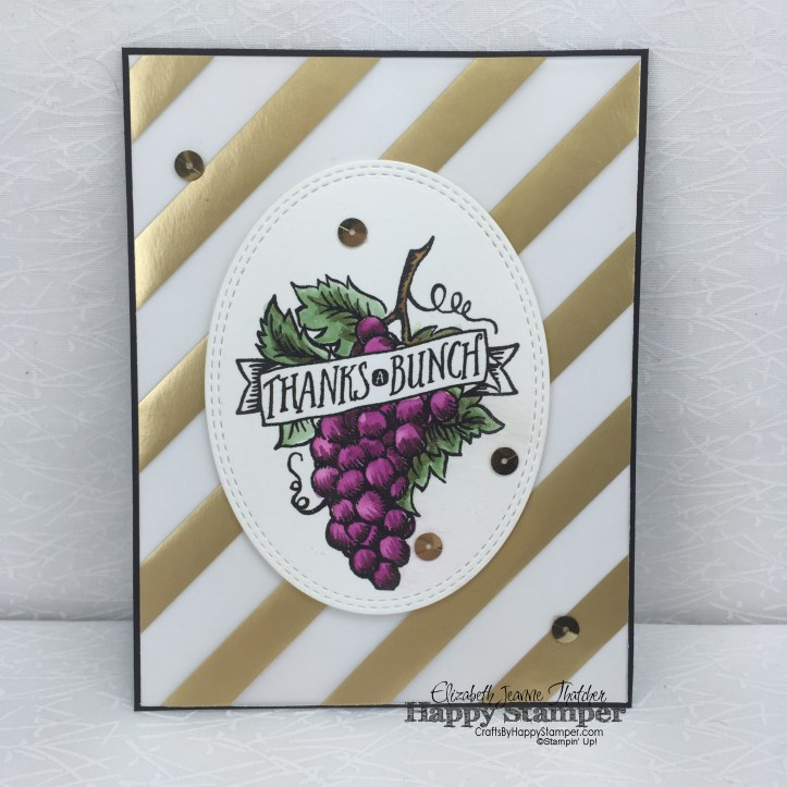 Stampin Up, Market Fresh, Thanks, Can You Case It? #111, CYCI #111