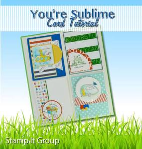 You're Sublime Card Tutorial