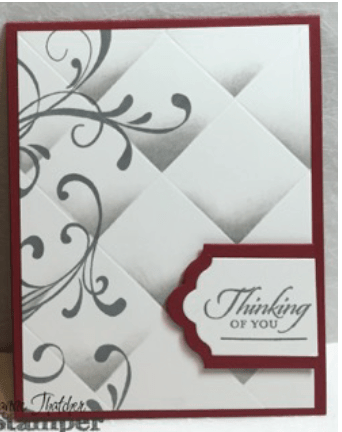 Stampin Up, crafts, everything eleanor, wetlands, faux tile