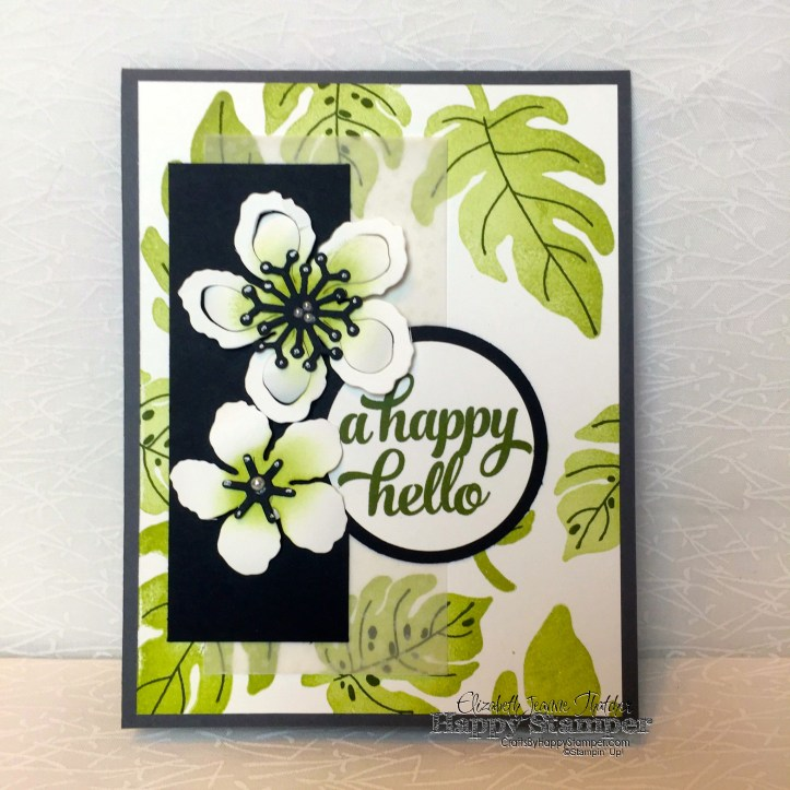 Stampin Up, Botanical Builders, Botanical Blooms