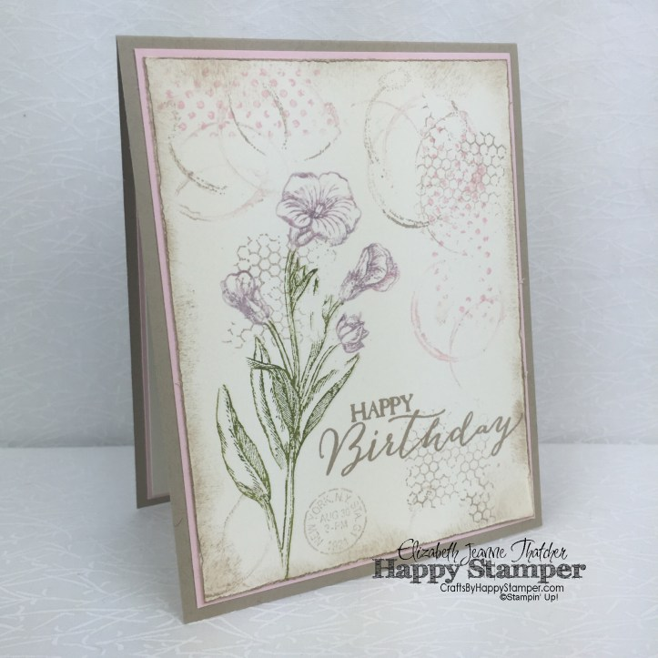 Stampin Up, Vintage, Timeless Textures, Butterfly Basics, Traveler