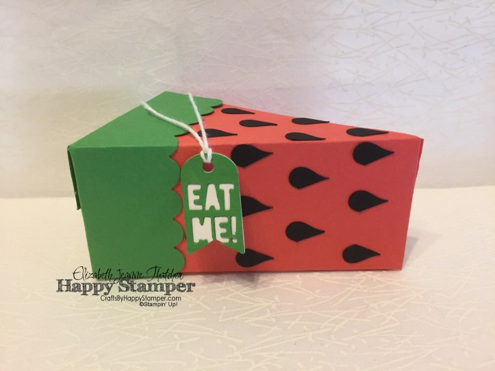 Stampin Up, Watermelon, Cutie Pie Thinlits, Heart Punch, diy, 3D
