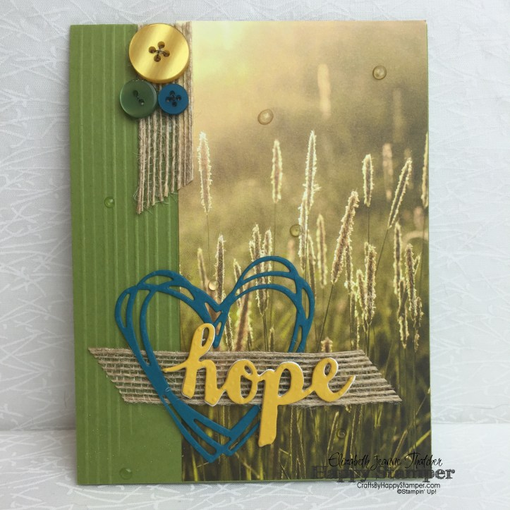 Stampin Up, Sunshine Wishes, Sunshine Sayings, CYCI, Serene Scenery