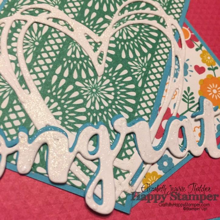 Stampin Up, Sunshine Wishes, Sunshine Sayings, diy, crafts, festive birthday