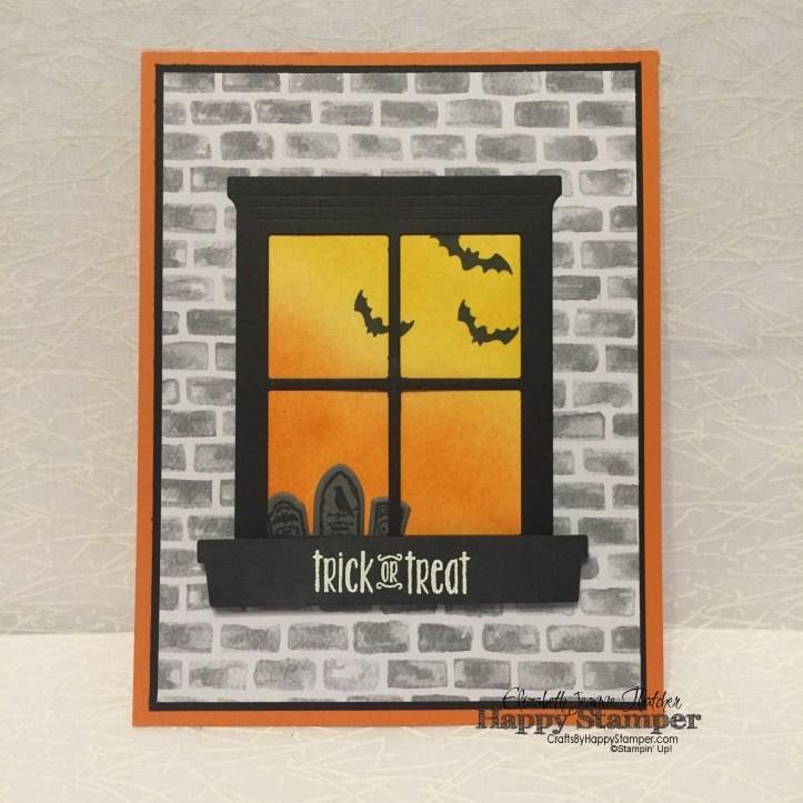 Stampin Up, Halloween, diy, crafts, Spooky Fun, Halloween Nights