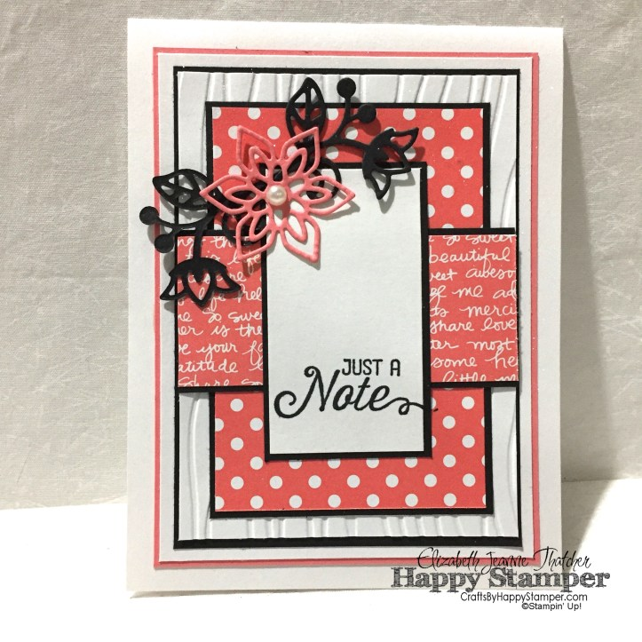 Stampin Up, Flourishing Phrases, Birthday, Hop, In Colors