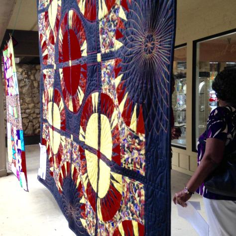 Pam McIntyre quilt at 2015 festival