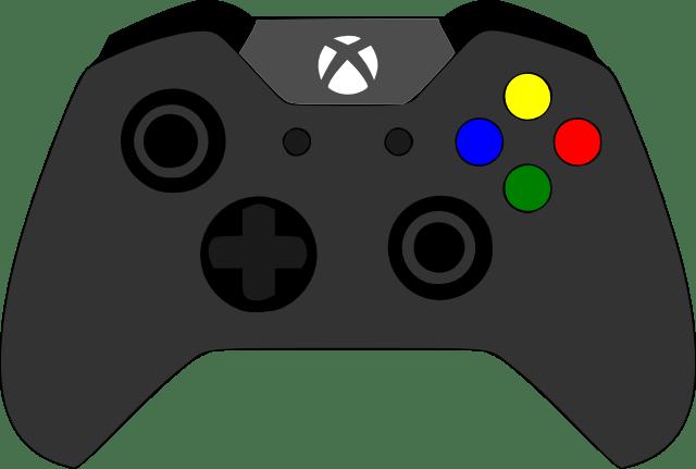 XBOX Controller SVG