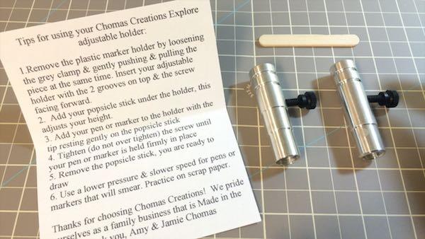 Chomas Creations Adjustable Pen Holder and Adjustable Marker Holder
