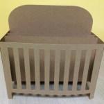 Baby Crib Box Card