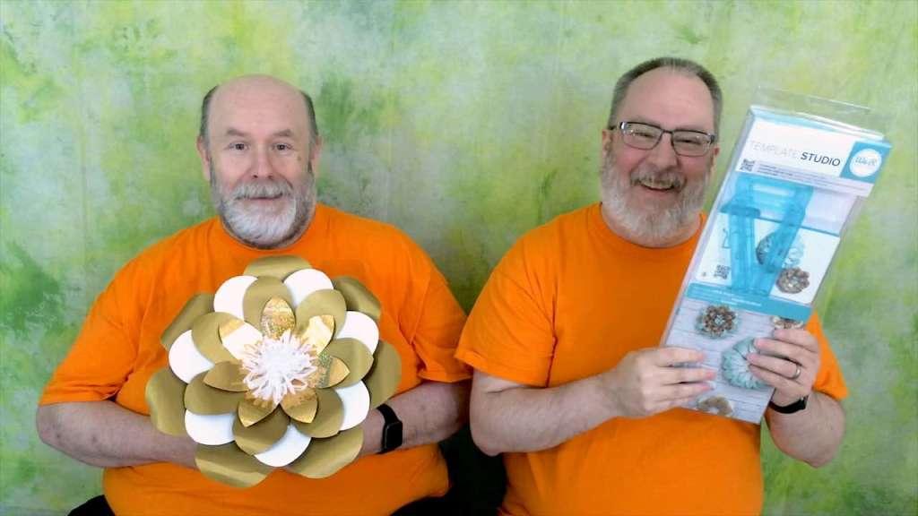 We R Memory Keepers Template Studio Flower Guide Demo