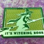 Foiling Frightful Fun - Witch