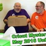 Cricut Mystery Box - May 2016 Unboxing