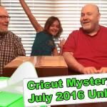 Cricut Mystery Box - July 2016 Unboxing