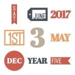 Days & Dates