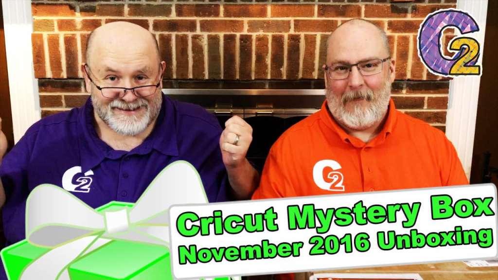 Cricut Mystery Box - November 2016 Unboxing